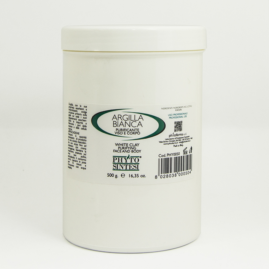 POWDERED CLAY (WHITE / GREEN)