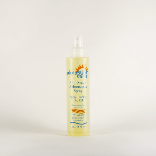 SPRAY TANNING DRY OIL FACE/BODY