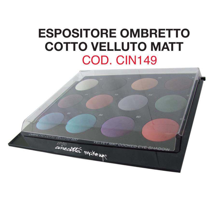 Expò 12 velvet mat cooked eye shadows