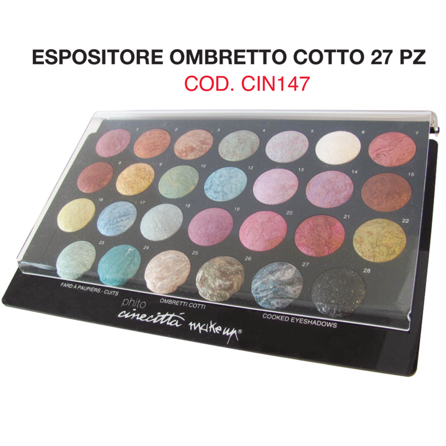 Expò27 compact cooked eye shadows