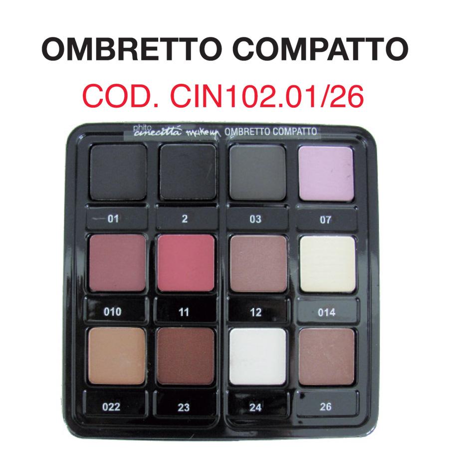 Pal. 12 compact eye shadows