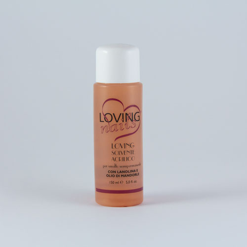 Solvent with lanolin and almond oil
