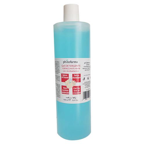 Gel detergente igienizzante mani con antibatterico