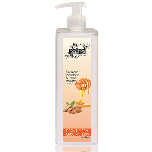 Emulsione corpo mandorla e miele	 - Almond and honey body emulsion
