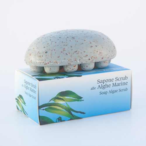 Sapone scrub marino
