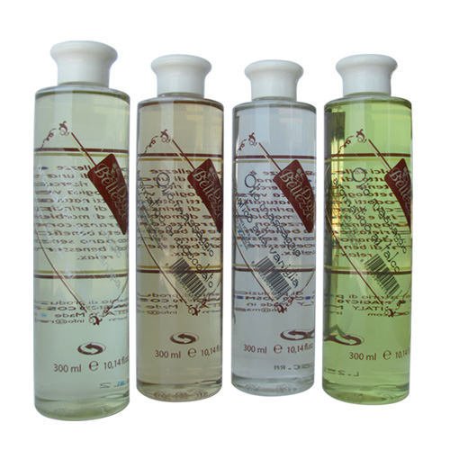Olio massaggio aromatizzato al talco - Massage talc oil